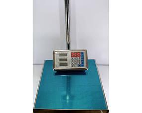 Весы платформенные ACS 300kg-350kg 40*50 Domotec 6V с железной головой