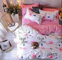 Комплект постельного белья бязь Весенний Сон 3 (Двуспальный)