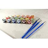 Картина по номерам Цветочный рынок ТМ Идейка 40 х 50 см КНО2191, фото 2