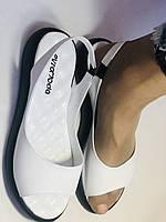 Супер комфорт! Жіночі шкіряні босоніжки .Розмір 36. 37.39.40. Туреччина Магазин Vellena, фото 4