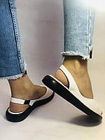 Супер комфорт! Жіночі шкіряні босоніжки .Розмір 36. 37.39.40. Туреччина Магазин Vellena, фото 7