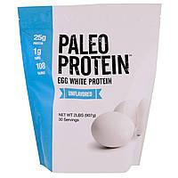 Julian Bakery, Paleo Protein, протеин яичного белка, без аромата, 2 фунта (907 г), официальный сайт