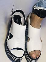 Хіт! Жіночі босоніжки на середній платформі. Натуральна шкіра.Туреччина. Розмір 37-40/ Vellena, фото 5