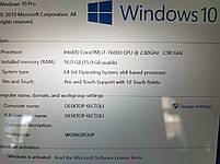 Ноутбук HP EliteBook x360 1030 G2 i7-7600u/16gb/256SSD/FHD IPS, фото 3