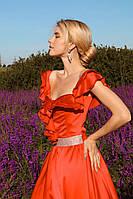 Сукня червона вечірня
