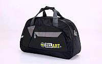 """Спортивная сумка """"ZEL"""" GA-4122-BK #F/B"""