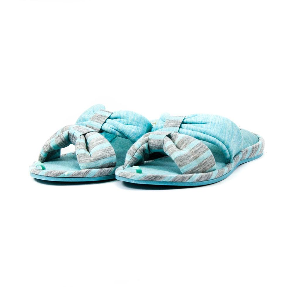 Тапочки комнатные женские Home Story 90709-GO голубые (36)