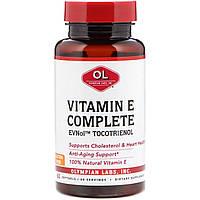 Olympian Labs, Комплекс с витамином Е, 60 мягких желатиновых капсул, официальный сайт