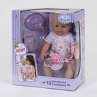 Игрушечная кукла пупс функциональный WZJ 030-518,с звуковыми эффектами, на батарейках(13 функций)