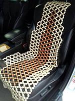 Деревянная накидка-автомассажер НД 101, фото 1