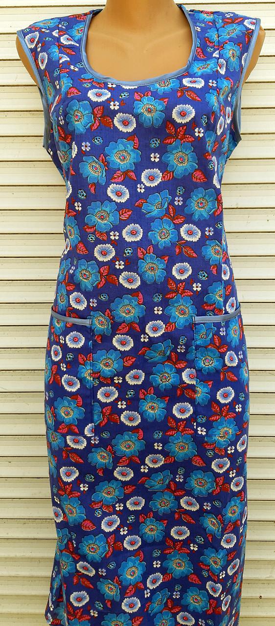 Платье без рукава 58 размер