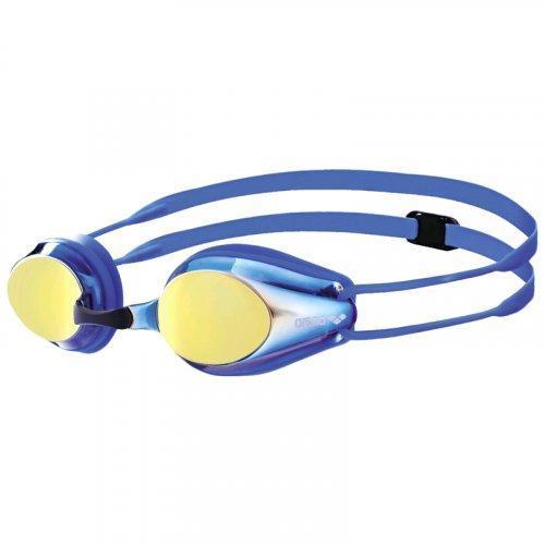 Детские очки для плавания Arena TRACKS JR MIRROR (1E560-073) Blue-yellow (hub_fNvu62293)
