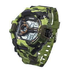 Часы тактические Skmei 1233 Green Camo (1233GCB)