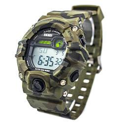 Часы тактические Skmei 1197 Green Camo (1197GCB)