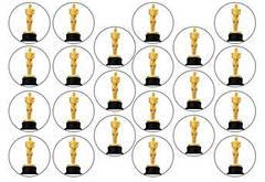 """Вафельна картинка """"Оскар"""""""