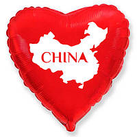 Фольгированные Сердца Китай