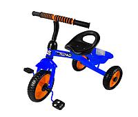 Детский велосипед TILLY TRIKE T-315 Трехколесный с EVA колесами и корзиной (разные цвета) Желтый Синий