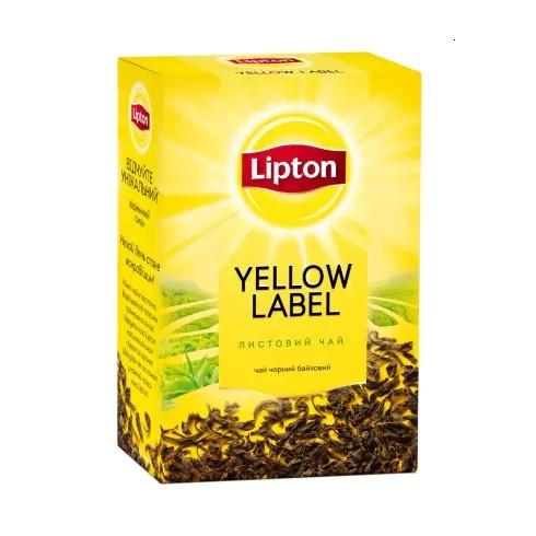 Чай Lipton Yellow Label 80 грам