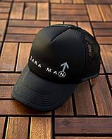 Кепка-тракер Zara man мужская с сеткой   Black, фото 1