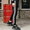 Чоловічі спортивні штани, чоловічі спортивні штани Adidas, Адідас чорні, фото 4