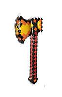 Детская надувная игрушка для плавания Топор в стиле Майнкрафт (длинна 70 см)