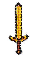 Детская надувная игрушка для плавания Меч в стиле Майнкрафт (длинна 62 см)