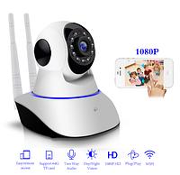 ✅ IP Камера видеонаблюдения онлайн WI-FI поворотная 360 градусов | камера відеоспостереження (Гарантия 12 мес)