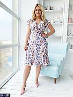 """Платье женское модель 1104 (52-54) """"ALICIA"""" недорого от прямого поставщика, фото 1"""