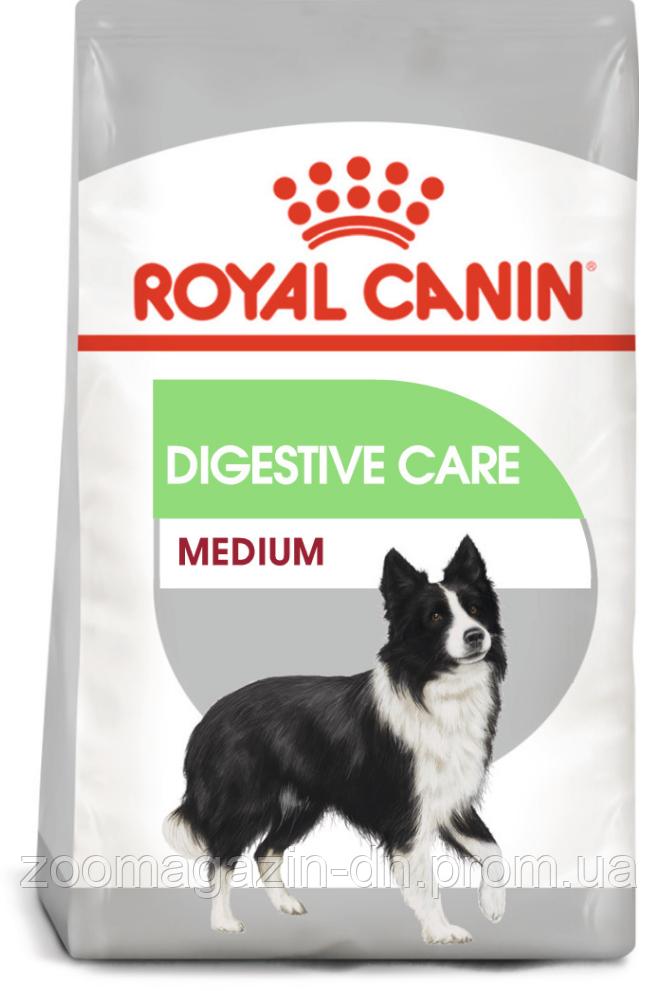 Royal Canin Medium Digestive Care для собак средних пород с чувствительной пищеварительной системой, 3 кг