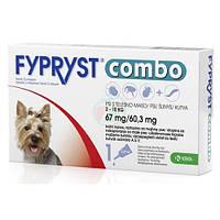ФИПРИСТ КОМБО ОТ БЛОХ И КЛЕЩЕЙ капли на холку для собак от 2 до 10 кг (1 пипетка)