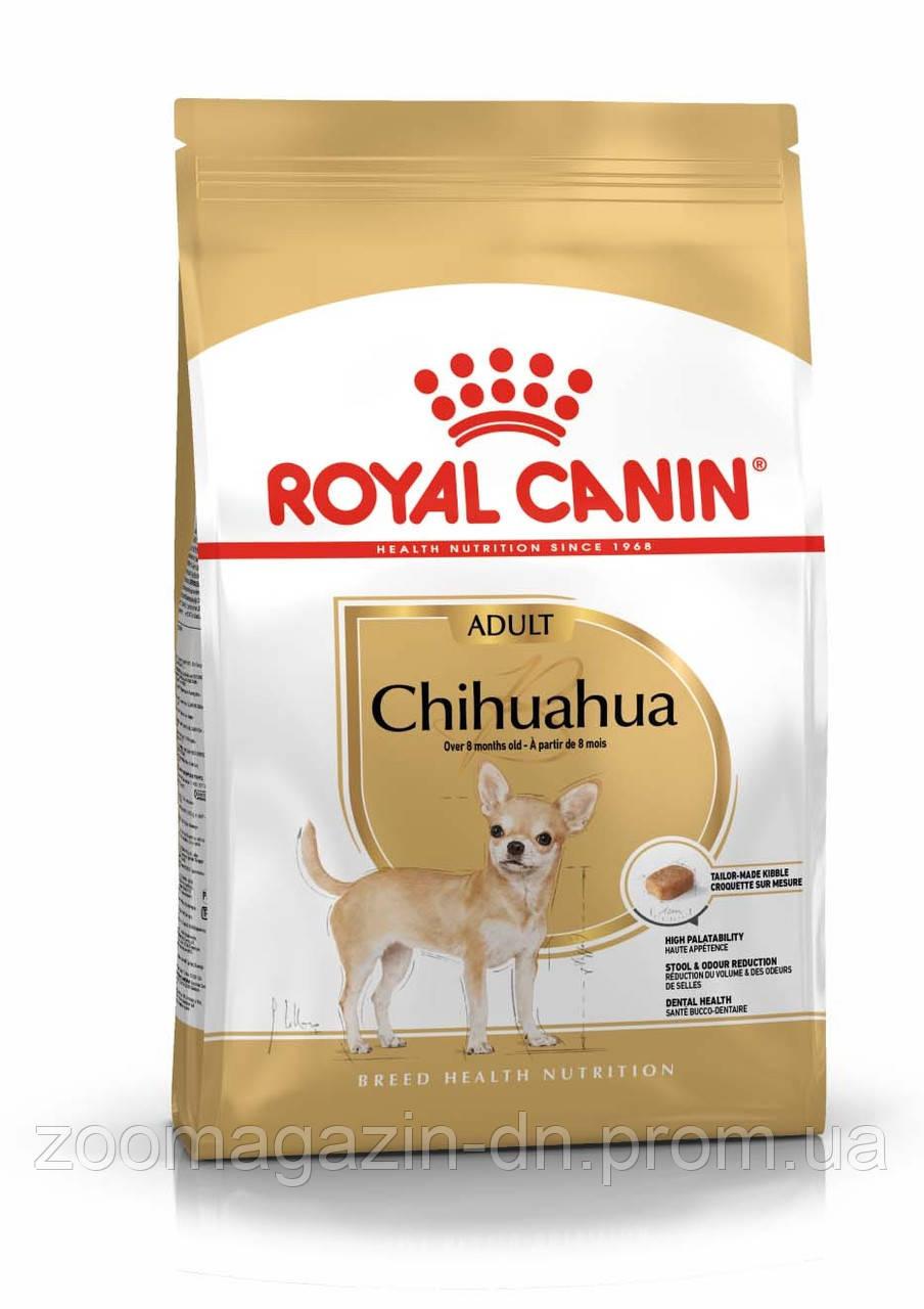 Royal Canin Chihuahua Adult для собак породы чихуахуа в возрасте с 8 месяцев 1,5 кг