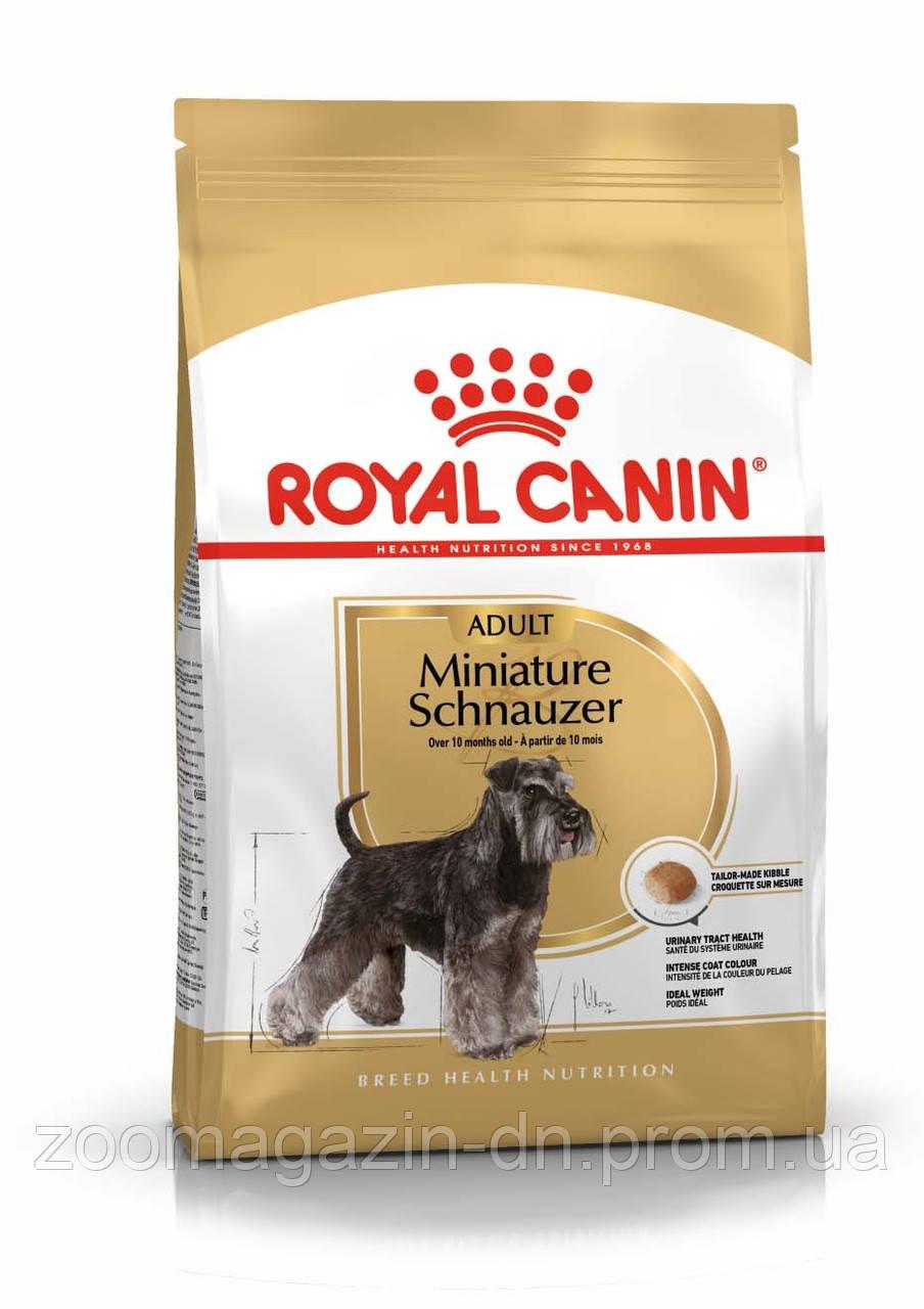 Royal Canin Schnauzer Adult  Корм для миниатюрного шнауцера, 0,5 кг