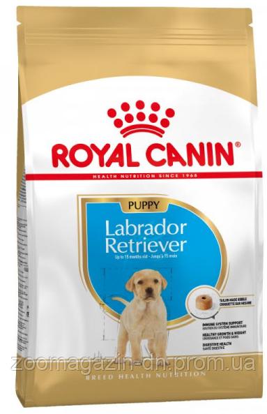Royal Canin Labrador Retriever Puppy для щенков породы лабрадор до 15 месяцев, 12 кг