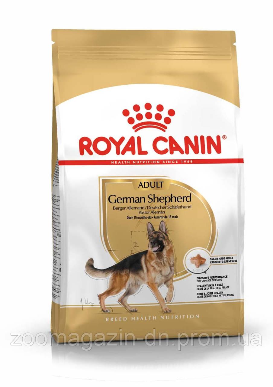 Royal Canin German Shepherd Adult для немецких овчарок старше 15 месяцев 11 кг