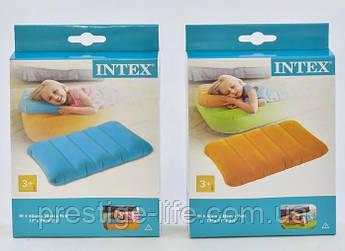 Надувная подушка Intex 68676 (43*28*9 см), 2 цвета