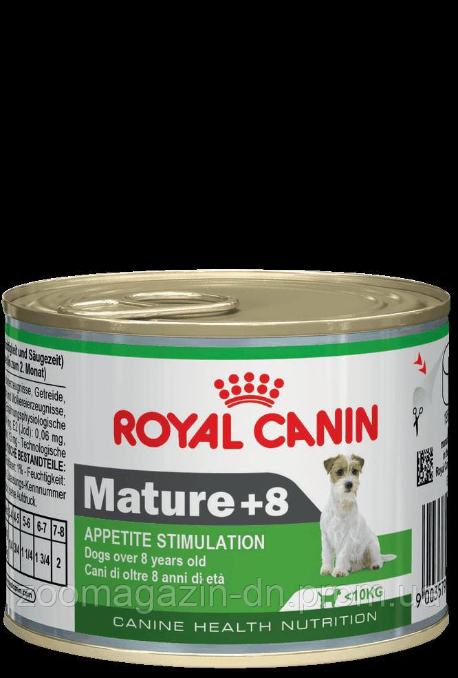 Royal Canin Mature +8 Wet  для поддержания жизненных сил собак старше 8 лет 0,195 кг