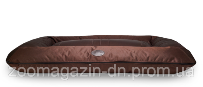 Лежаки двухсторонние Harley and Cho Lounger Brown Waterproof, коричневый, L