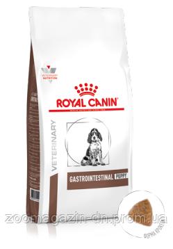 Royal Canin Gastro Intestinal PUPPY Canine для щенков в возрасте до 1 года, для сук мелких и средних размеров 2,5 кг