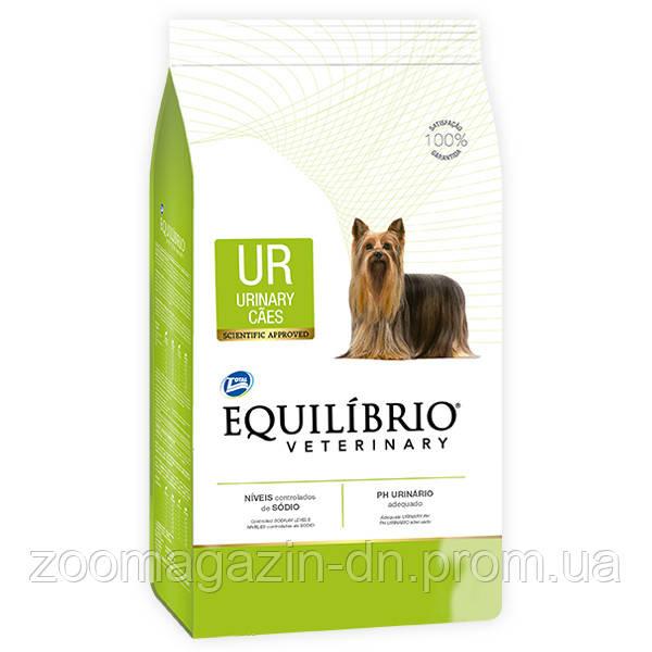 Equilibrio Veterinary Dog УРИНАРИ лечебный корм для собак, 2 кг