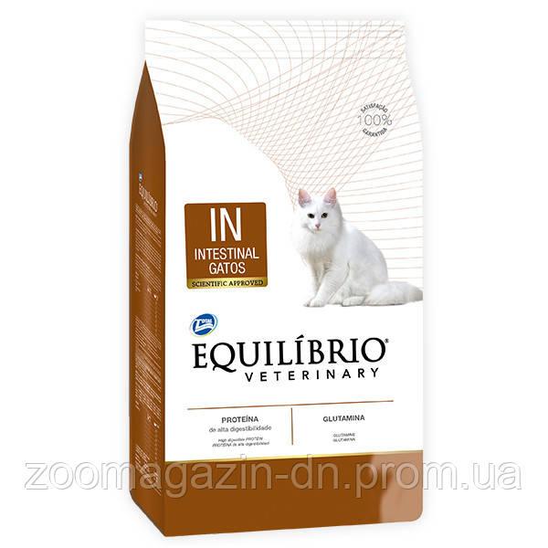 Equilibrio Veterinary Cat ИНТЕСТИНАЛ лечебный корм для котов с заболеваниями желудочно–кишечного тракта, 2 кг