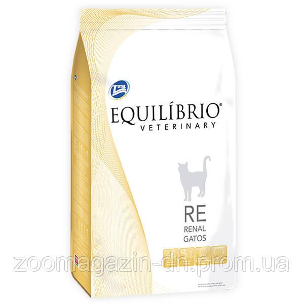 Equilibrio Veterinary Cat РЕНАЛ лечебный корм для котов с заболеваниями почек, 2 кг