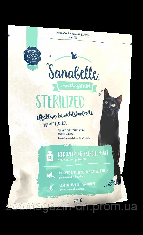 Кошачий корм Sanabelle Sterilized для стерилизованных кошек 0,4кг