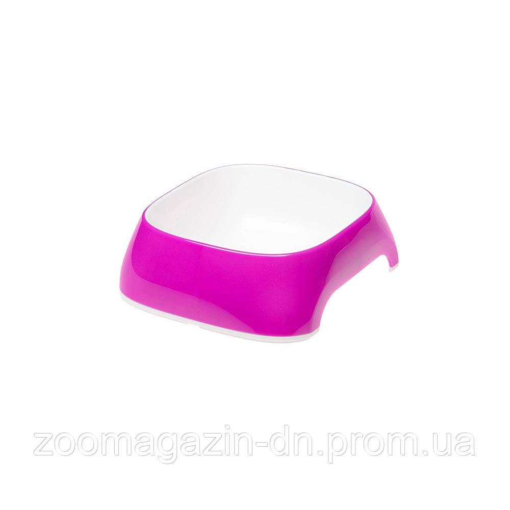 Ferplast  GLAM XS VIOLET BOWL   Пластиковая миска для собак и кошек. фиолетовая,  13 x 12 x h 3,5 cm - 0,2 L