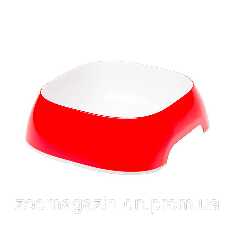 Ferplast  GLAM MEDIUM RED BOWL   Пластиковая миска для собак и кошек. красная,  20 x 18,5 x h 6 cm - 0,75 L