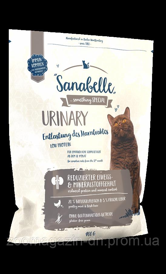 Кошачий корм Sanabelle Urinary для кошек с проблемами мочевыделительной системы 0,4кг