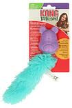 Игрушка KONG Мятная мышка (цвета в ассортименте), 21 см, фото 2