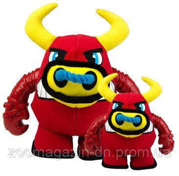 Игрушка Kong Мощный Зверь Бык M, 18 х 18,5 см