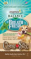 ESPREE Жевательные стики «Свежесть дыхания» Balance Breath Fresh Chew Sticks