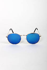 Детские очки Vitoks Солнцезащитные детские очки GB0312 синие Общая ширина 12(см)/ Высота линзы 4.5(см)/ Ширина линзы 4.8(см) (GB0312)