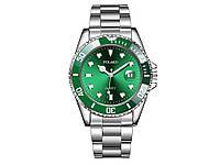Часы Yolako кварцевые мужские  Зеленый